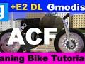Gmod Bike Expression2: Bike lean and steering