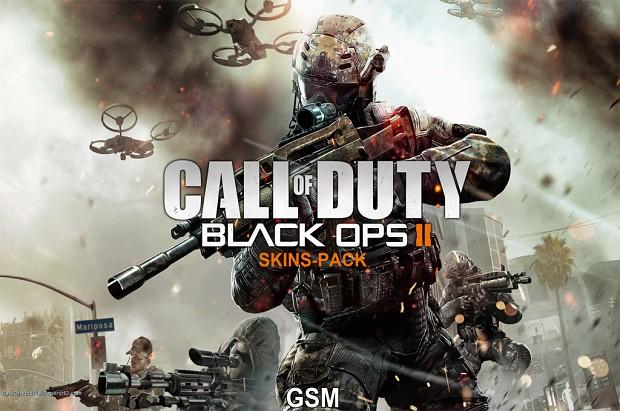 Call of duty black ops 2 (Skins pack)