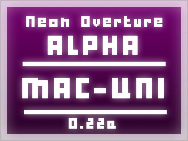 Neon Overture - Alpha 0.22a - OSX Universal