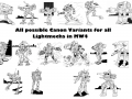 Lore Variant Pack: Light V1