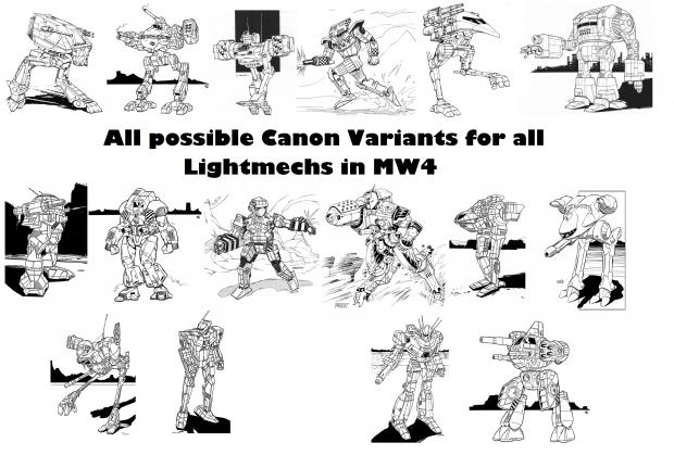 Lore Variant Pack: Light V1