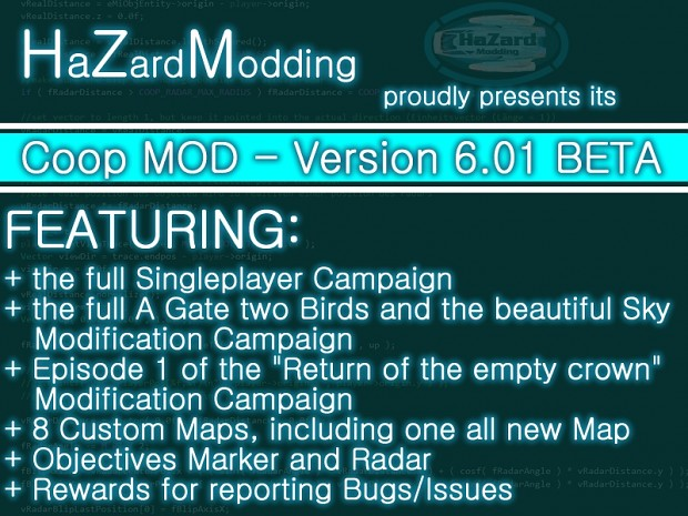 ENGLISH - EF2 HZM Coop Mod 6.01 BETA