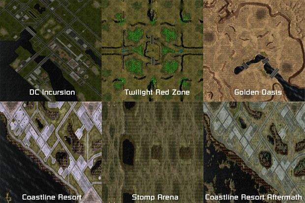 Tiberium Essence Map Pack 2 by CnC_Fin