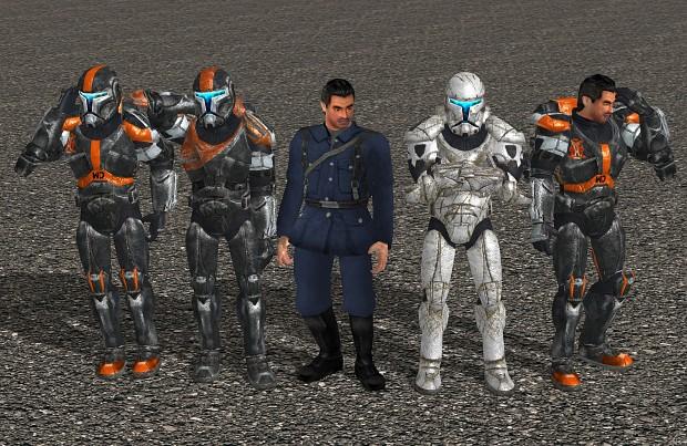 Clone commandos