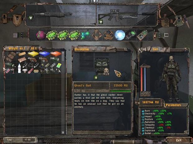 mods pack for O.G.S.E. v0.6.9.2. Eng (V4)