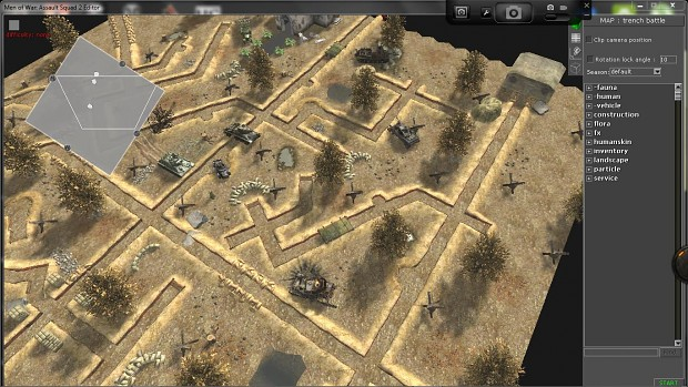 trench battle