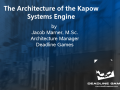 Kapow Sustems 3D Architecture
