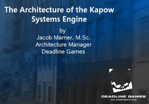 Kapow Sustems 3D Architecture