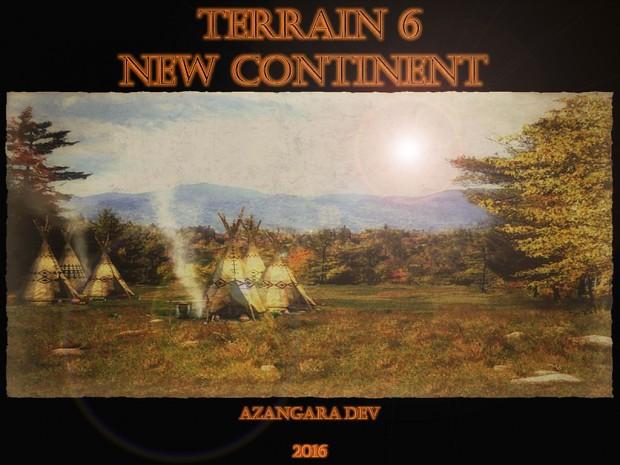 Terrain 6 New Continent