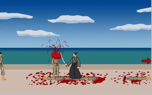 Samurai Cuts People