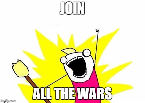 Join all the Wars