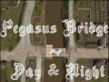 Pegasus Bridge - Night and Day Maps