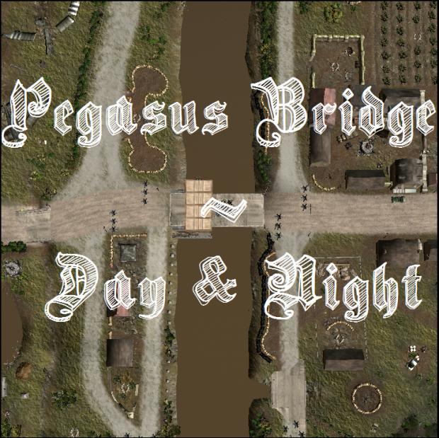 Pegasus Bridge - Night and Day Maps