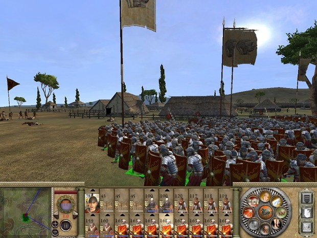 Late Roman Legions submod, EB II v. 2.1b