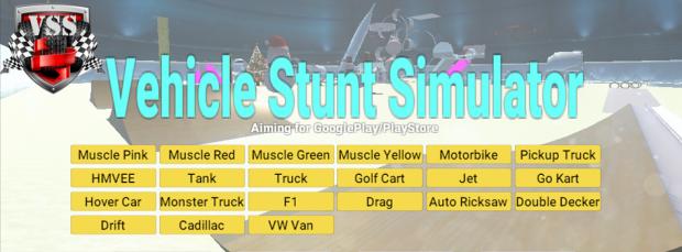 Vehicle Stunt Simulator demo