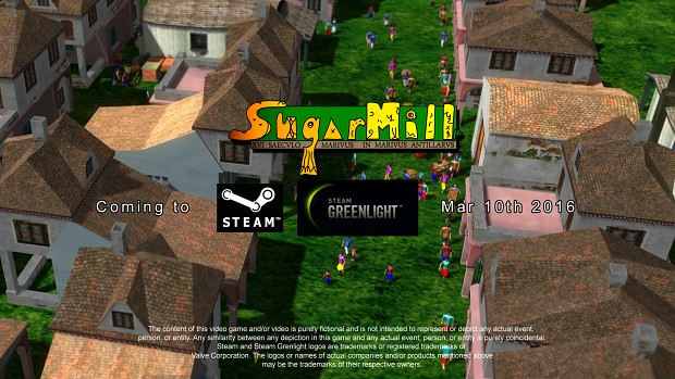 Thursday Mar 10th Coming to Steam GreenLight