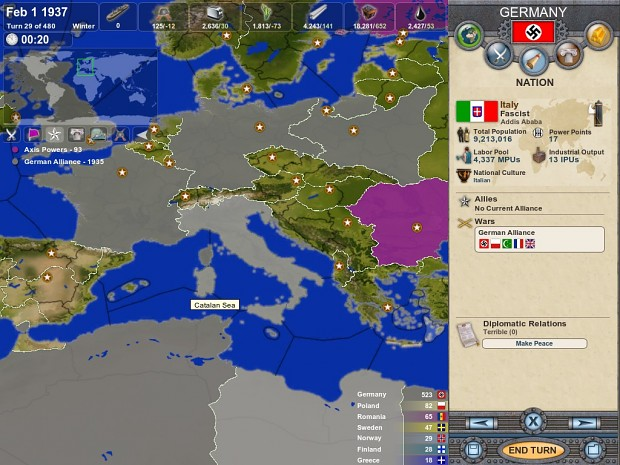 Axis Rising Ahistorical Patch V 1.0.2