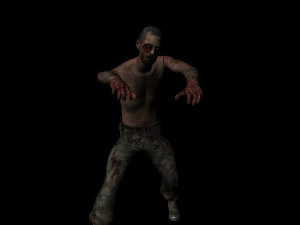 Zombie for our game, Not Dead Enough