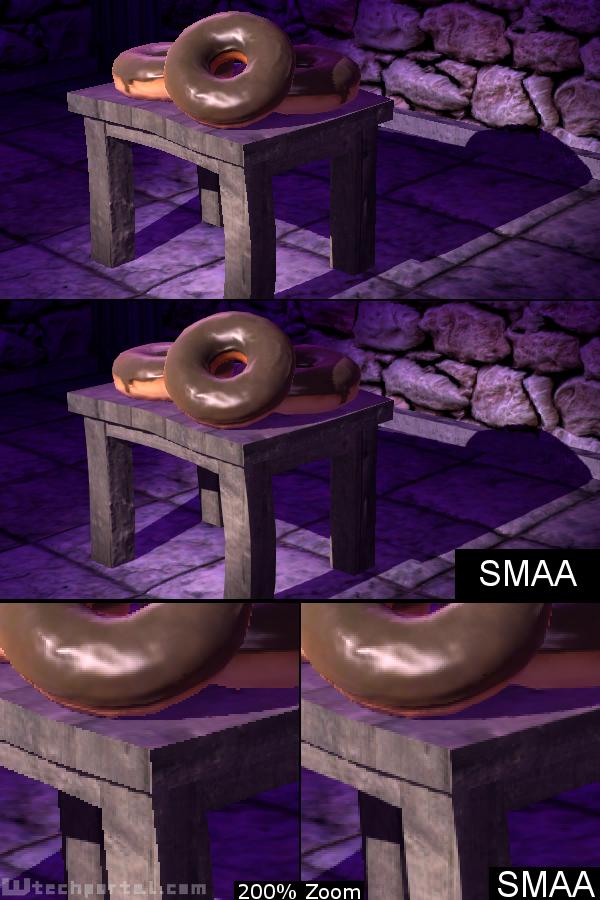 SMAA und HeightFog