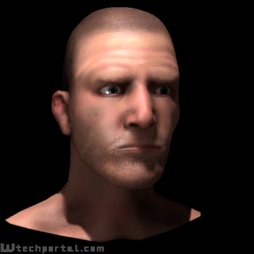 skin shader with more specular lighting