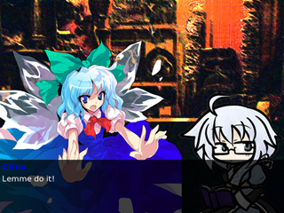 A screenshot of a game using Ren'Py