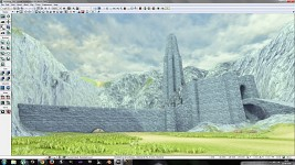 Helm's Deep Work in progress