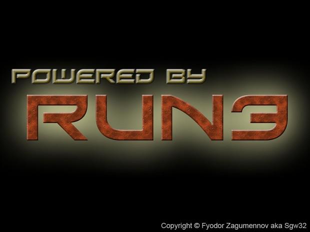 The first version of game engine splash logo