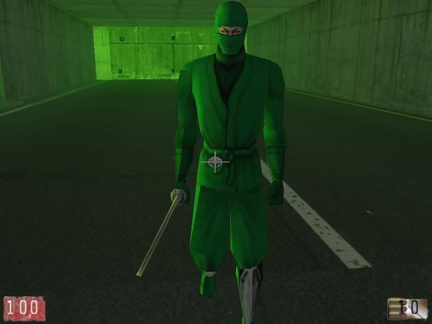 The first NPC - ninja!!