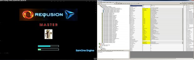 Starting 3D window and SamOne Engine editor