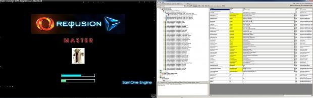 Starting 3D window and SamOne Engine editor