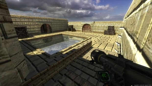 XashXT: custom build. Parallax & Water shot 2.
