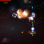 Space Blaster HTML5 game