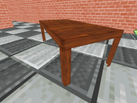 Table Textured