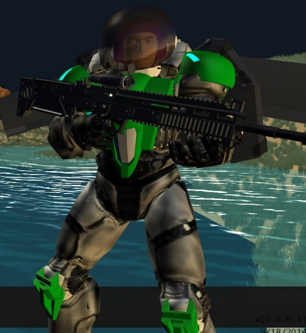 Buzz Lightyear Custom Armor Set