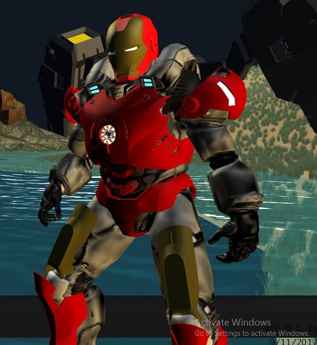 IRON MAN Custom Suit