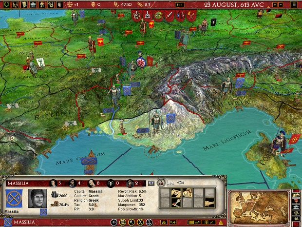 Europa Universalis: Rome (2008)