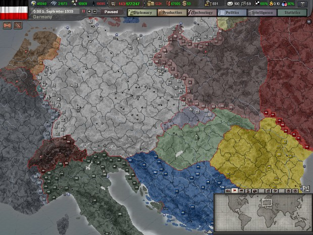 Hearts of Iron III (2009)