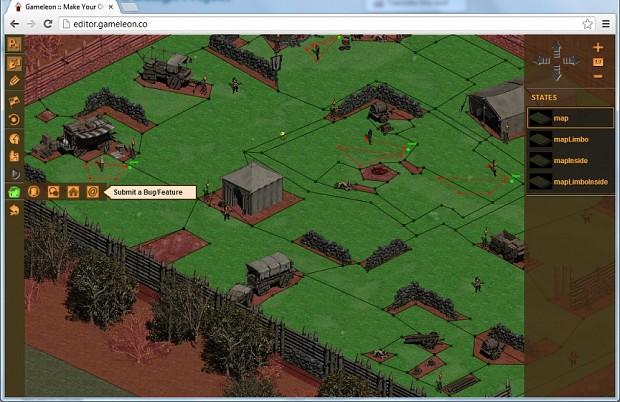 Editor screenshots