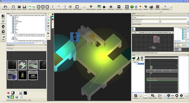 Imperial Game Engine: isometric game matrix rendering tests