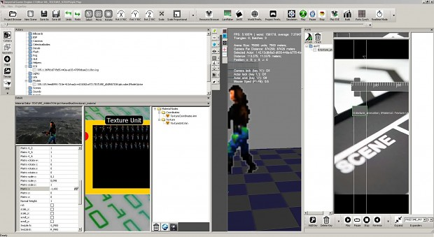 texture strips and sprite editor