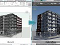 Extends the Revit to 3ds Max workflow