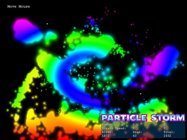 Particle Storm: Blend Modes