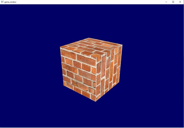 Orange brick texture
