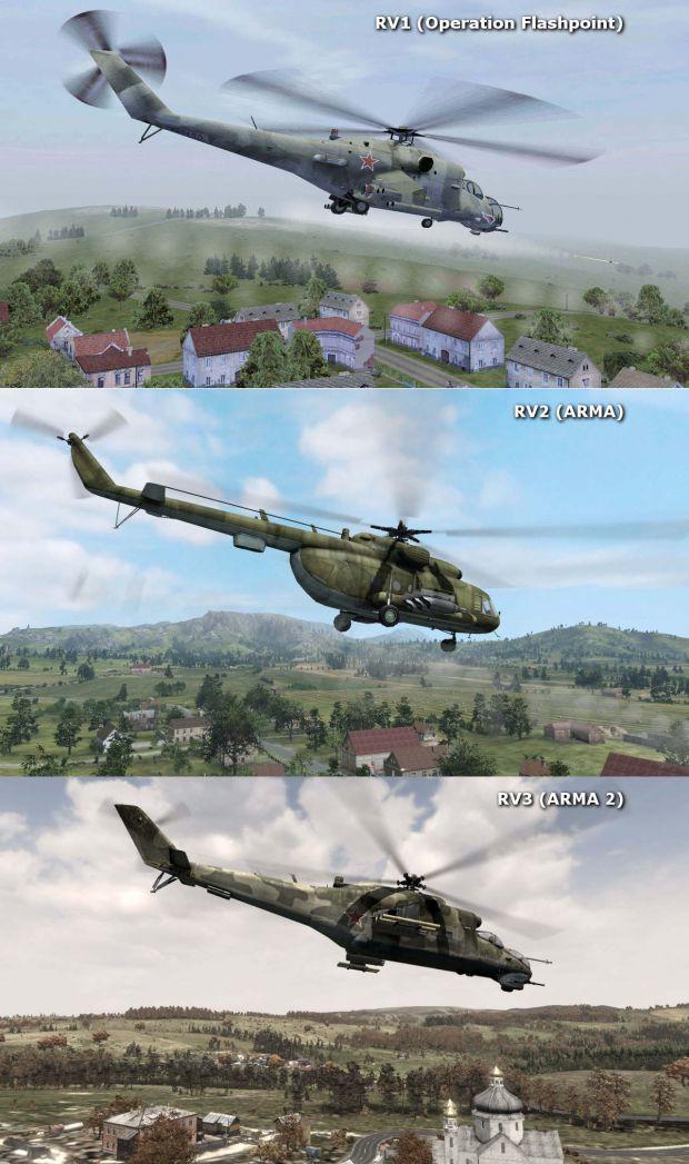 Comparison Shots