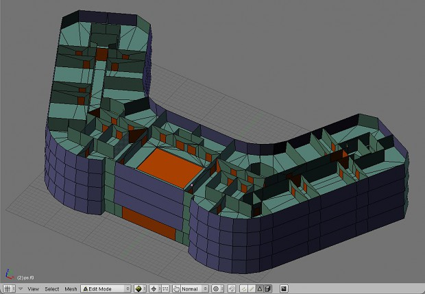 ISG HQ - Blender Portal System