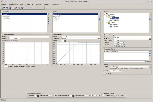 Synthesizer Editor