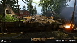 Pre-alpha Image of Residential Area for Miscreated