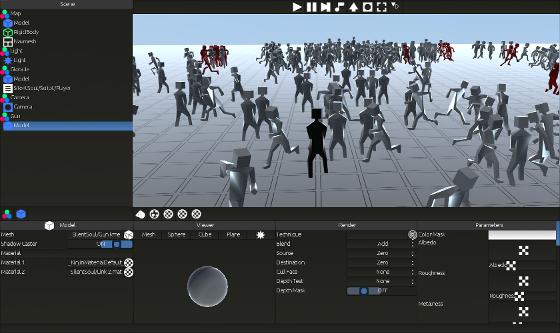 Kinjin - Material editor