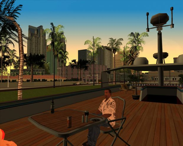 CJ in Vice City