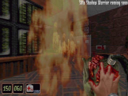 3Dfx version - screenshot